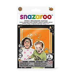 Snazaroo Face Paint Stencils: Halloween Set