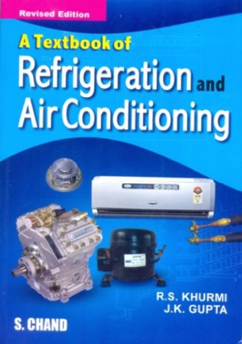 Textbook of Refrigeration and Air-conditioning (M.E.) by R ...