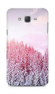 Amez designer printed 3d premium high quality back case cover for Samsung Galaxy J7 (Girly Purple)