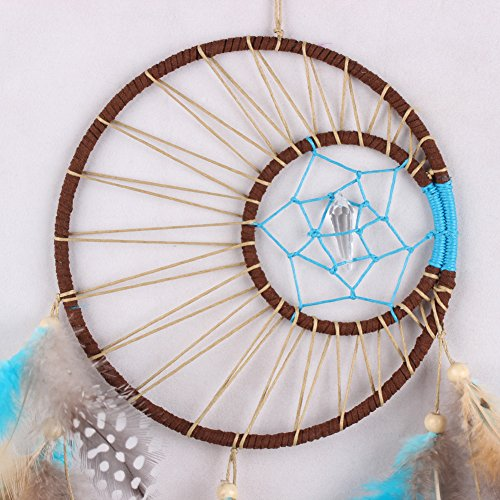 Whitelotous Unquie Handmade Dream Catcher with Feathers Wall Hanging Decoration Ornament Gift