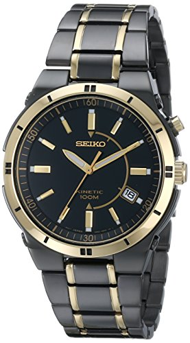 Seiko-Mens-SKA366-Stainless-Steel-Two-Tone-Kinetic-Dress-Watch