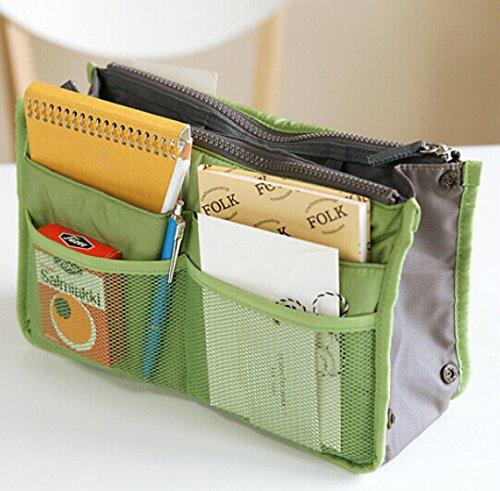 Liroyal-Borsetta portaoggetti da inserire nella borsa, ideale per ordine cosmetici e altri accessori da viaggio, no.3, Cosmetic bag
