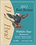 2011 Duck Pond Cellars Blend - Red Columbia Valley Desert Wind Vineyard 750 mL
