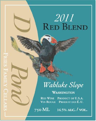 2011 Duck Pond Cellars Blend - Red Columbia Valley Desert Wind Vineyard 750 Ml