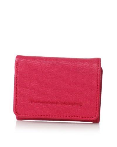 WeSC Unisex Payton Canvas Wallet  [Jester Red]