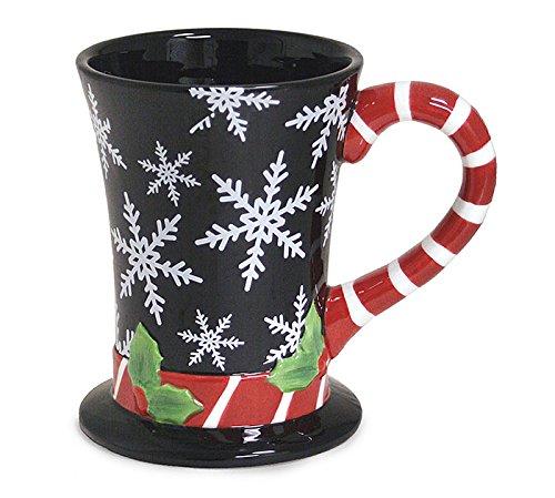 Christmas Snowflake Top Hat Coffee Mug
