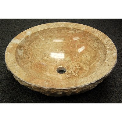 Wabi Sabi Vessel Bathroom Sink Sink Finish: Blue Stone