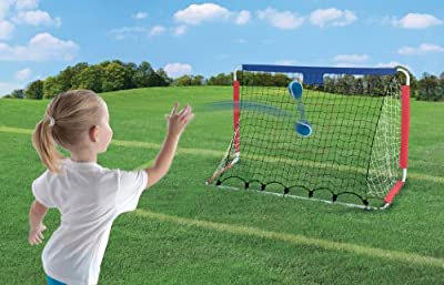 Step2 Kickback Soccer Goal And Pitch Back by Step2