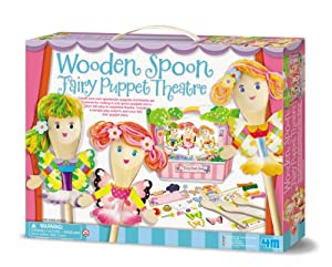 4m Spoon Fairy Puppet Thtr by 4M