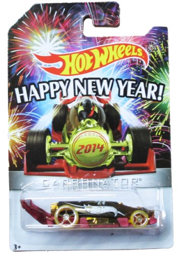 Hot Wheels - Happy New Year - 2014 Carbonator -