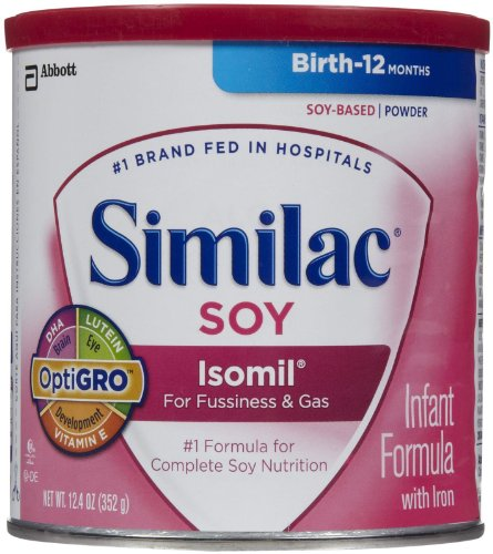 Similac Soy Isomil Baby Formula - Powder - 12.4 oz - 1