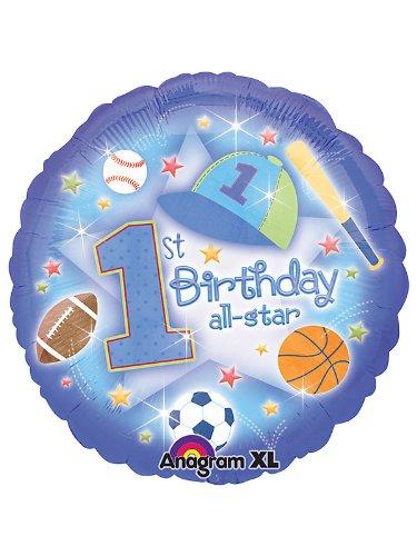 First Birthday All-star Balloon (each)