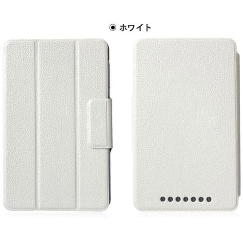 Google Nexus 7 (2012) leather case sleep function (white)