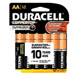 Duracell Alkaline Batteries, AA 12 batteries