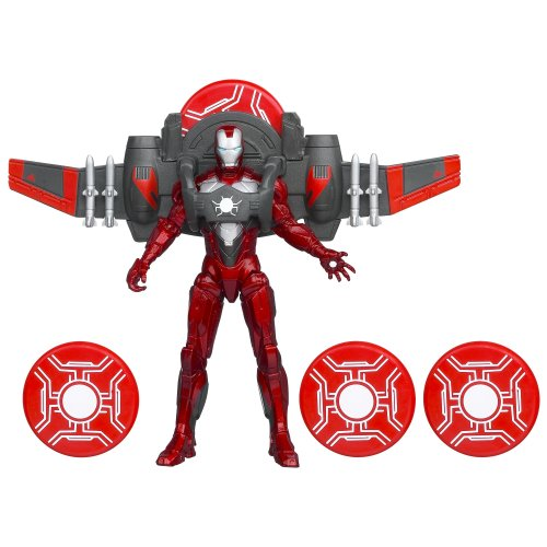 Marvel The Avengers Comic Series Iron Man Divebomb Mission Figure - 1