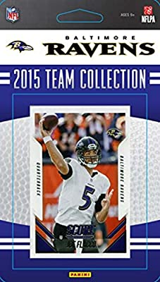 Baltimore Ravens 2015 Score Factory Sealed 16 Card Team Set Including Joe Flacco, Steve Smith, 6 Rookies plus