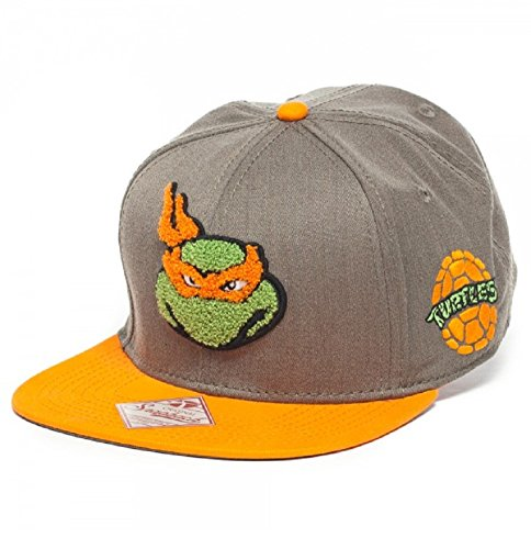 Fuzzy Michelangelo Teenage Mutant Ninja Turtles Snapback