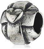 TrollBeads Damen-Bead Liebendes Licht 925 Sterling Silber 11280