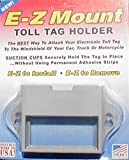 Toll Tag Holder, EZ Pass, I-Pass, C-Pass, Palmetto, Smart Tag, Fast Lane - 5 Colors