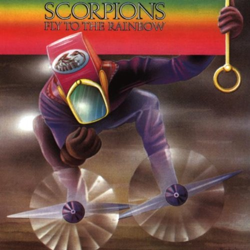 Original album cover of Fly to the Rainbow by Scorpions