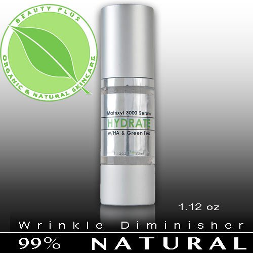 HYDRATE: Anti-Aging Wrinkle Firming Serum. 1.12oz.