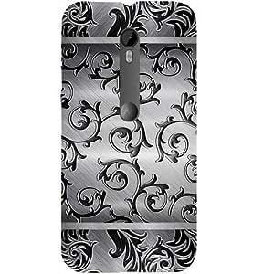 Casotec Texture Surface Design Hard Back Case Cover for Motorola Moto G 3rd Generation