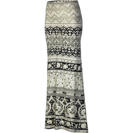 Billabong Women's Clothing For The Luv Maxi Skirt Off Black S
