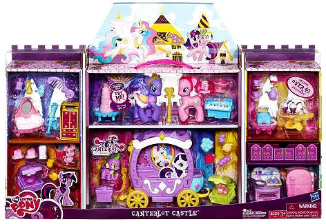 Crystal Princess Palace Playset Royal Wedding Castle