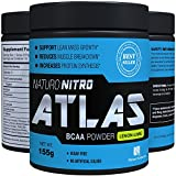 Naturo Nitro, BCAA Instantized Powder, Best Branched Chain Amino Acids, 28 Servings, 5.5g Per Serving, Lemon Lime Flavor