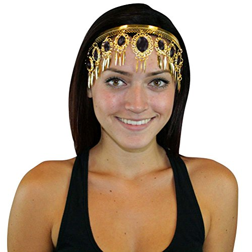Leaf Crown Belly Dance Headband Headpiece Jewelry Party Accessories Halloween Costume