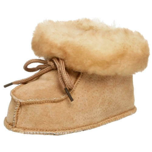 Staheekum Baby Slipper (Infant/Toddler),Wheat,Medium (US Infant 0-6 Months)