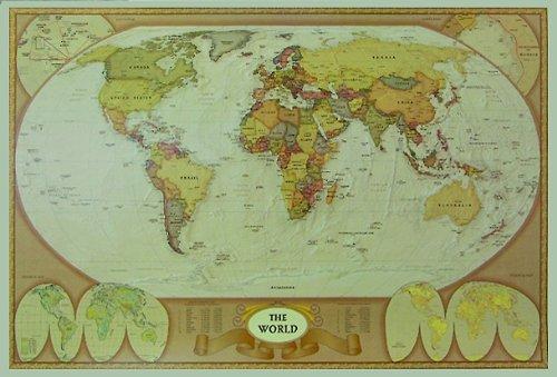 Weltkarte als Poster | Weltkarte