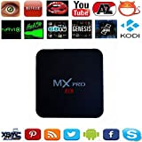 Kekilo MX Pro Android 5.1 TV Box Amlogic S905 4K Quad Core 1G/8G WiFi HDMI Kodi Pre-installed Smart Media Player