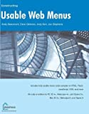 img - for Constructing Usable Web Menus by Beaumont, Andy, Gibbons, Dave, Kerr, Jody, Stephens, Jon (2002) Paperback book / textbook / text book