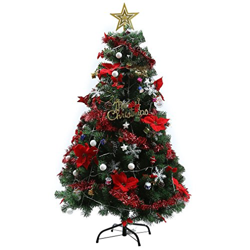5ft-lighted-red-poinsettia-snowball-star-nut-gifts-christmas-tree-w-lights-wp