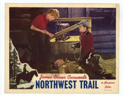 Northwest Trail Vintage 1945 Vintage Film Poster
