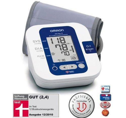 Omron M4 Plus II Oberarm Blutdruckmessgerät