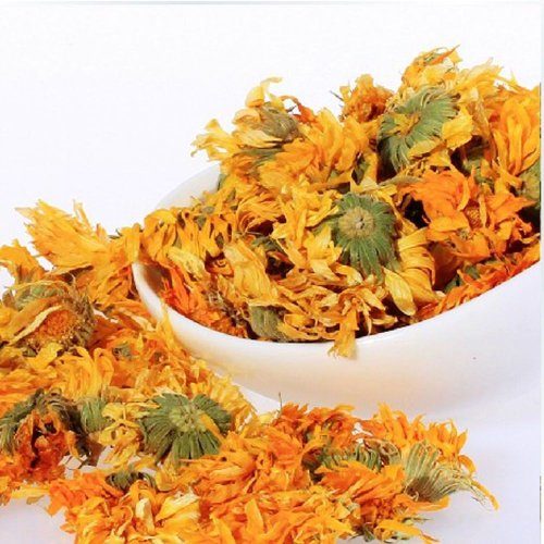 Marigold Flower Tea - Loose Leaf - 1 Oz (28G) - Sampler Size
