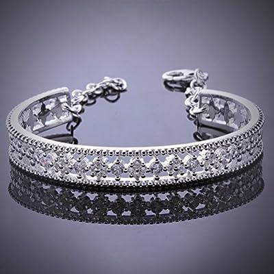 SunIfSnow Fashion Retro Simple Hollow Opening Bracelet