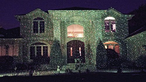 Exceptional Click Any Picture Below To Enlarge It.   NEW Star Shower Outdoor Laser  Christmas Lights