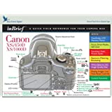 Canon Rebel XSi 450D / XS 1000D inBrief Laminated Camera Reference Card