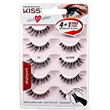 Kiss Products No. 05 Ever EZ Lashes, 10 Count