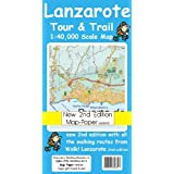 Lanzarote Tour and Trail Map 2nd edition Map-Paper version (Tour & Trail Maps)by David Brawn