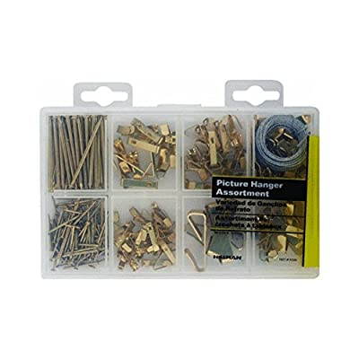 2 X Hillman Fastener Corp 130251 Picture Hanger Assortment Kit