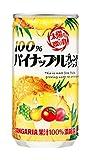 サンガリア 100%パイナップルブレンドジュース 190g×30本