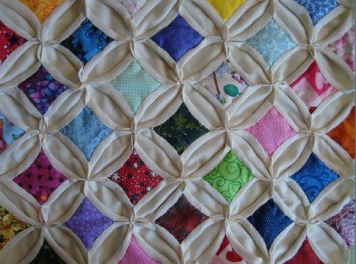 Cathedral Windows Quilt Block Kit