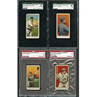 1909 E92 Dockman & Sons Baseball Complete Set W/2 Honus Wagners 272136 Kit Young Cards