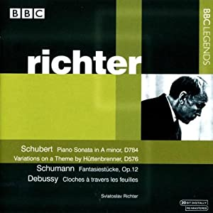 Richter Plays Schubert, Schumann & Debussy