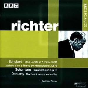 Richter Plays Schubert, Schumann & Debussy
