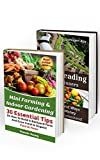 img - for Mini Farming & Indoor Gardening BOX SET 2 IN 1: 45 Tips On How To Build A Backyard Farm And Grow Fresh & Organic Food And Make Money From Your Homestead: ... farming, How to build a chicken coop,) book / textbook / text book